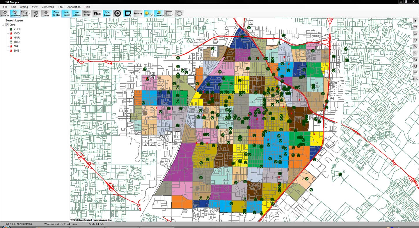 what is geospatial crime mapping  crime tech weekly - crimemaplite